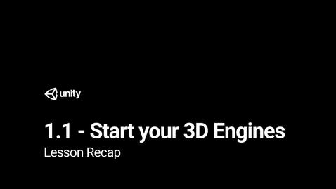 Thumbnail for entry Lesson 1.1 Recap