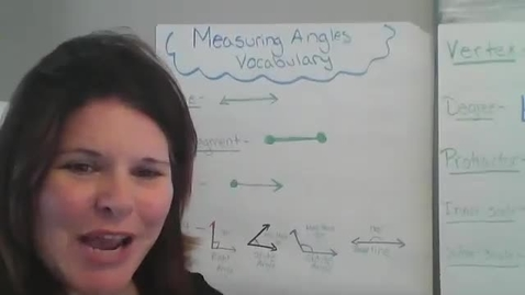 Thumbnail for entry Understanding and Measuring Angles