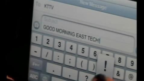 Thumbnail for entry 11-10-10 Good Morning East Tech