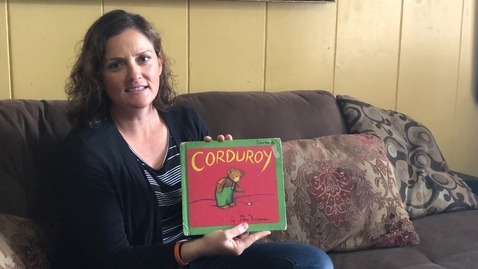 Thumbnail for entry Sarah reading Corduroy