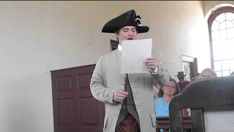 Thumbnail for entry What is a Town Crier?