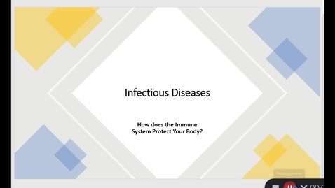 Thumbnail for entry Infectious Diseases: How the Immune System Protects our Bodies