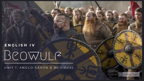 Thumbnail for entry 8/20 Beowulf - Anglo Saxon
