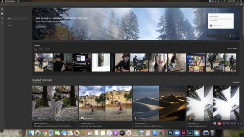 Thumbnail for entry Editing Photos in Adobe Lightroom