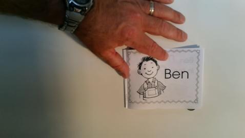 Thumbnail for entry Reading Ben book