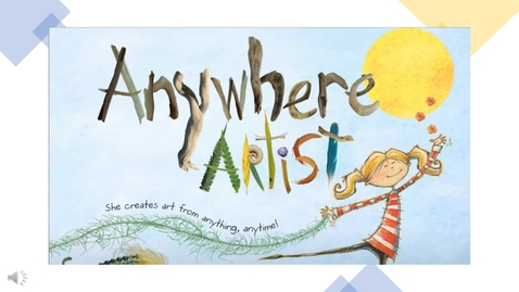 Thumbnail for entry Anywhere Artist read by Mrs. Trejo