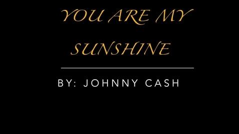 Thumbnail for entry sunshine