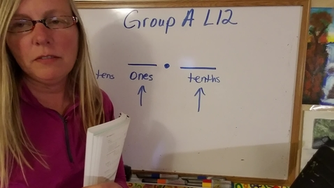 Thumbnail for entry Brighton Adventist Academy Group A Lesson 12 Math