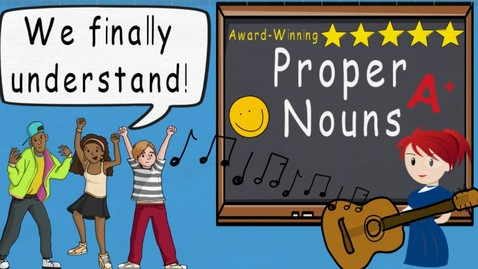 Thumbnail for entry Proper Noun Song (Proper Nouns by Melissa) | Award Winning Video