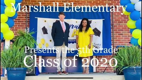 Thumbnail for entry MES 5th Grade Graduation 2020 #ccsdovercomescovid19