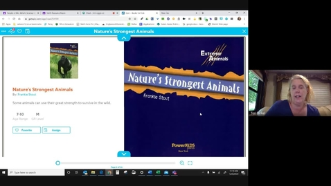 Thumbnail for entry Nature's Strongest Animals - Mrs. Birkel.mp4