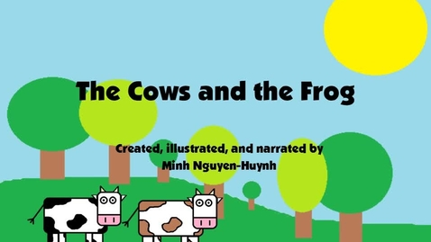 Thumbnail for entry The Cows and the Frog