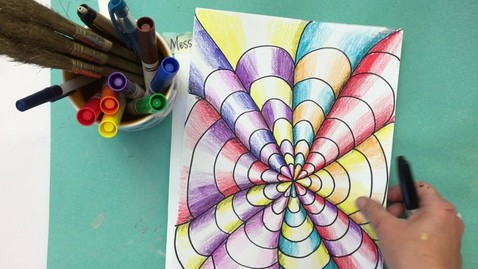 Thumbnail for entry 5th & 6th Grade Op Art