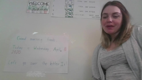 Thumbnail for entry Morning Message 04/08/2020 with Mrs. Payan