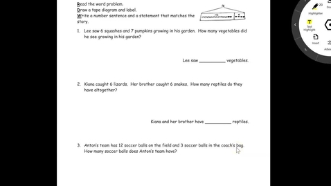 Thumbnail for entry Problem Set Lesson 19
