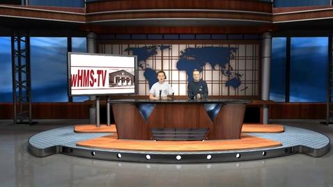Thumbnail for entry WHMS Morning Show Feb 3, 2020