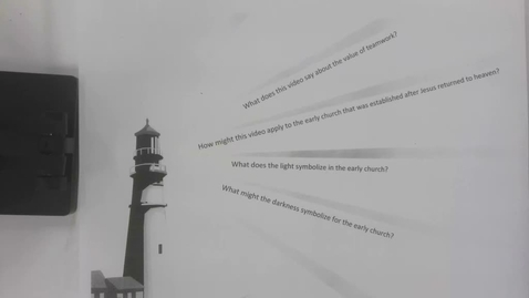 Thumbnail for entry 6th Grade Bible - April 29  - The Lighthouse