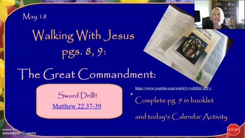 Thumbnail for entry Walking With Jesus: The Great Commandment, and the Beatitudes, Part One
