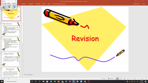 Thumbnail for entry Revise Edit Power Point