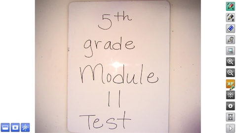 Thumbnail for entry Math 5.11 Test