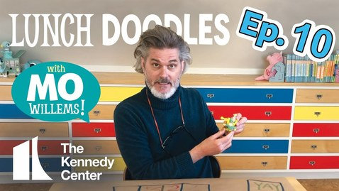 Thumbnail for entry LUNCH DOODLES with Mo Willems! Episode 10