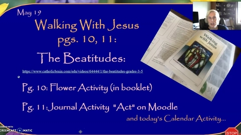 Thumbnail for entry Walking With Jesus: Beatitudes and Ascension, Part Two