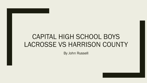 Thumbnail for entry 104 Cougar TV 2017-2018, Capital High School, Charleston, WV