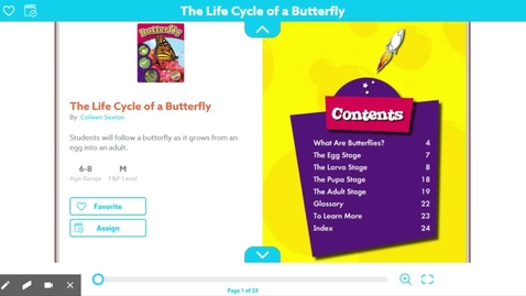 Thumbnail for entry The Life Cycle of A Butterfly