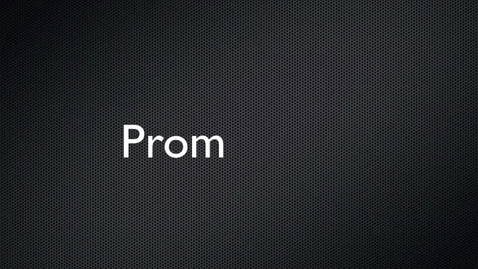 Thumbnail for entry Emily and Anthony's Prom Feature