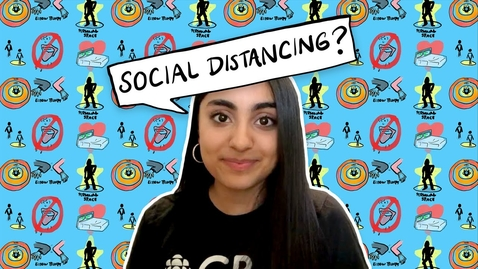 Thumbnail for entry What is social distancing? | CBC Kids News