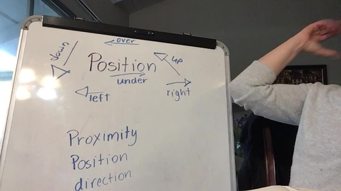 Thumbnail for entry Position Words with Miss Dietz