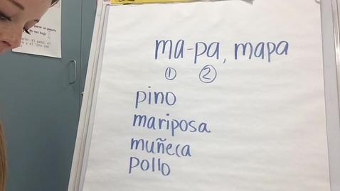 Thumbnail for entry Conciencia Fonológica