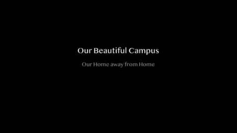 Thumbnail for entry Our Beautiful Campus
