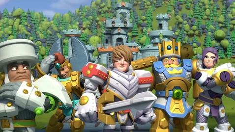 Thumbnail for entry Kingdom Builders | Episode 17: Builder Basher Battle-O-Rama | Cartoon Webisode for Kids
