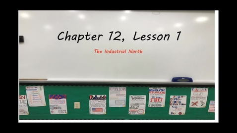 Thumbnail for entry Ch. 12.1 Class Notes