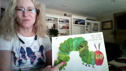 Thumbnail for entry The Hungery Catapillar read aloud