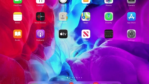 Thumbnail for entry How to set iPad Alarms
