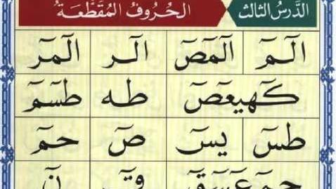 Thumbnail for entry ( 3 ) الدرس الثالث من القاعدة النورانية_ نور محمد حقانى