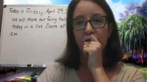 Thumbnail for entry Writing Share - Friday