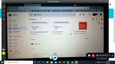 Thumbnail for entry How to make a folder in Google Drive
