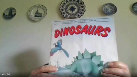 Thumbnail for entry Dinosaurs - Mrs. Rafn