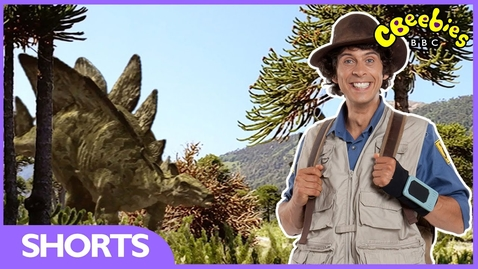 Thumbnail for entry Andy's Dinosaur Adventures - Stegosaurus Facts - CBeebies