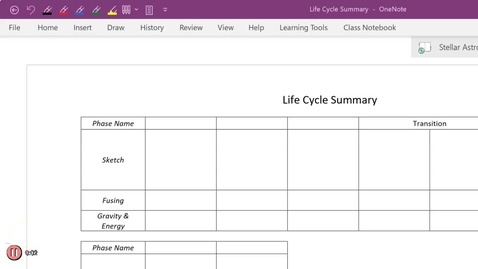 Thumbnail for entry Life Cycle Summary P6 pt1