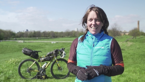 Thumbnail for entry Fastest circumnavigation by bicycle (female)