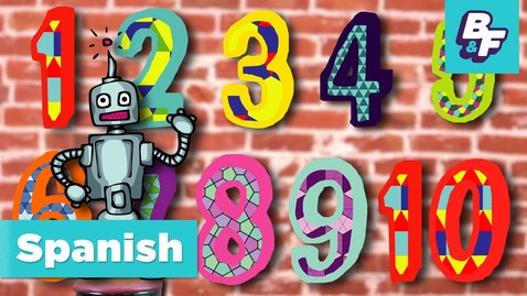 Thumbnail for entry Numbers Song in Spanish. Canción de los números de BASHO & FRIENDS