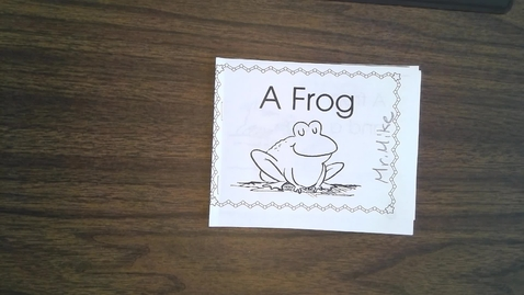 Thumbnail for entry Wednesday FROG reading