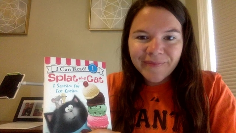 Thumbnail for entry Read Aloud: Splat the Cat: I is for Ice Cream