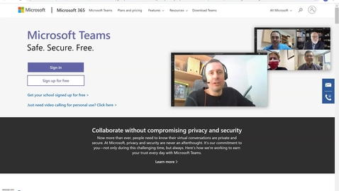 Thumbnail for entry How to Access your Microsoft Teams Account - Updated Version