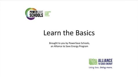 Thumbnail for entry Video Energy Basics 9-12