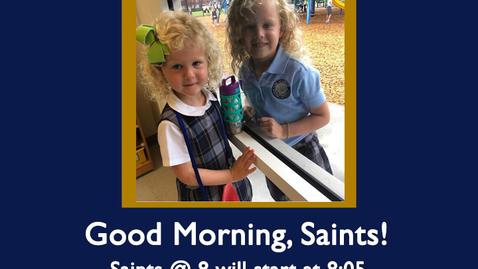 Thumbnail for entry Saints @ 8 - August 25, 2020